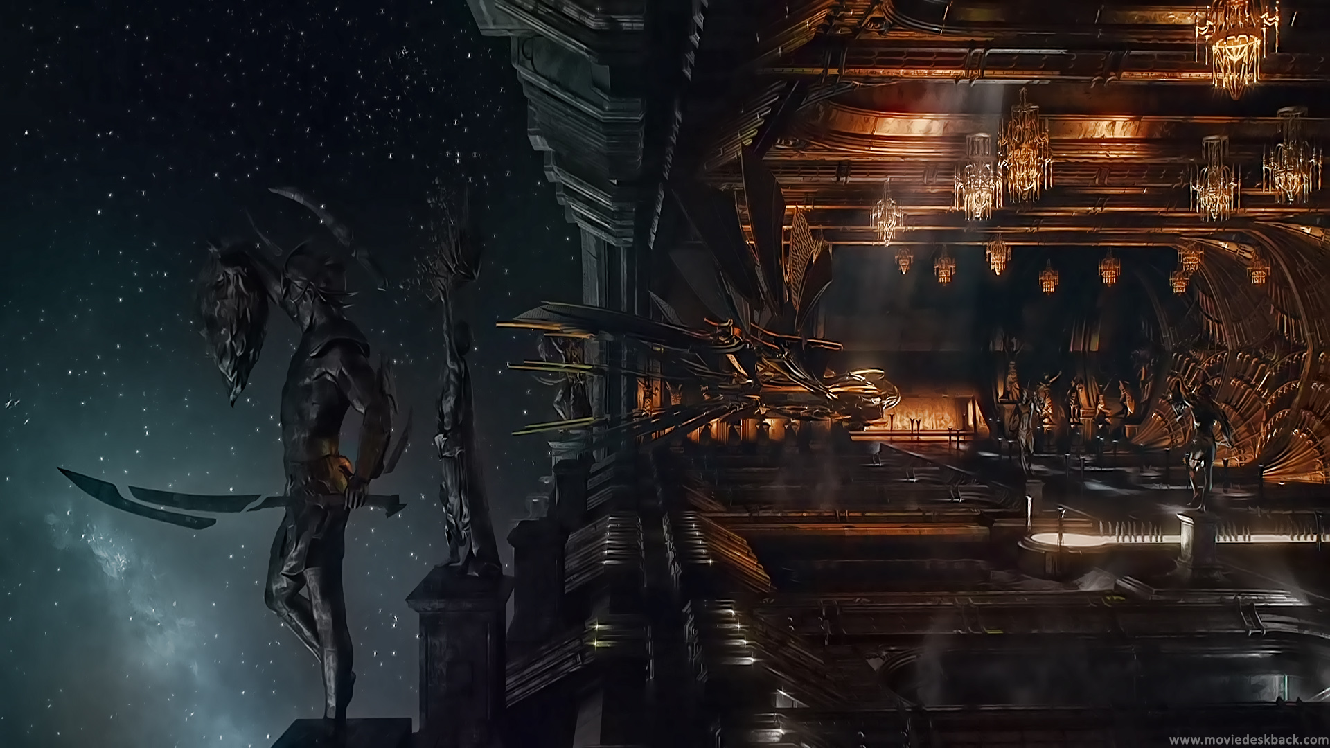 Jupiter Ascending Retina Movie Wallpaper: Jupiter Ascending HD Wallpaper