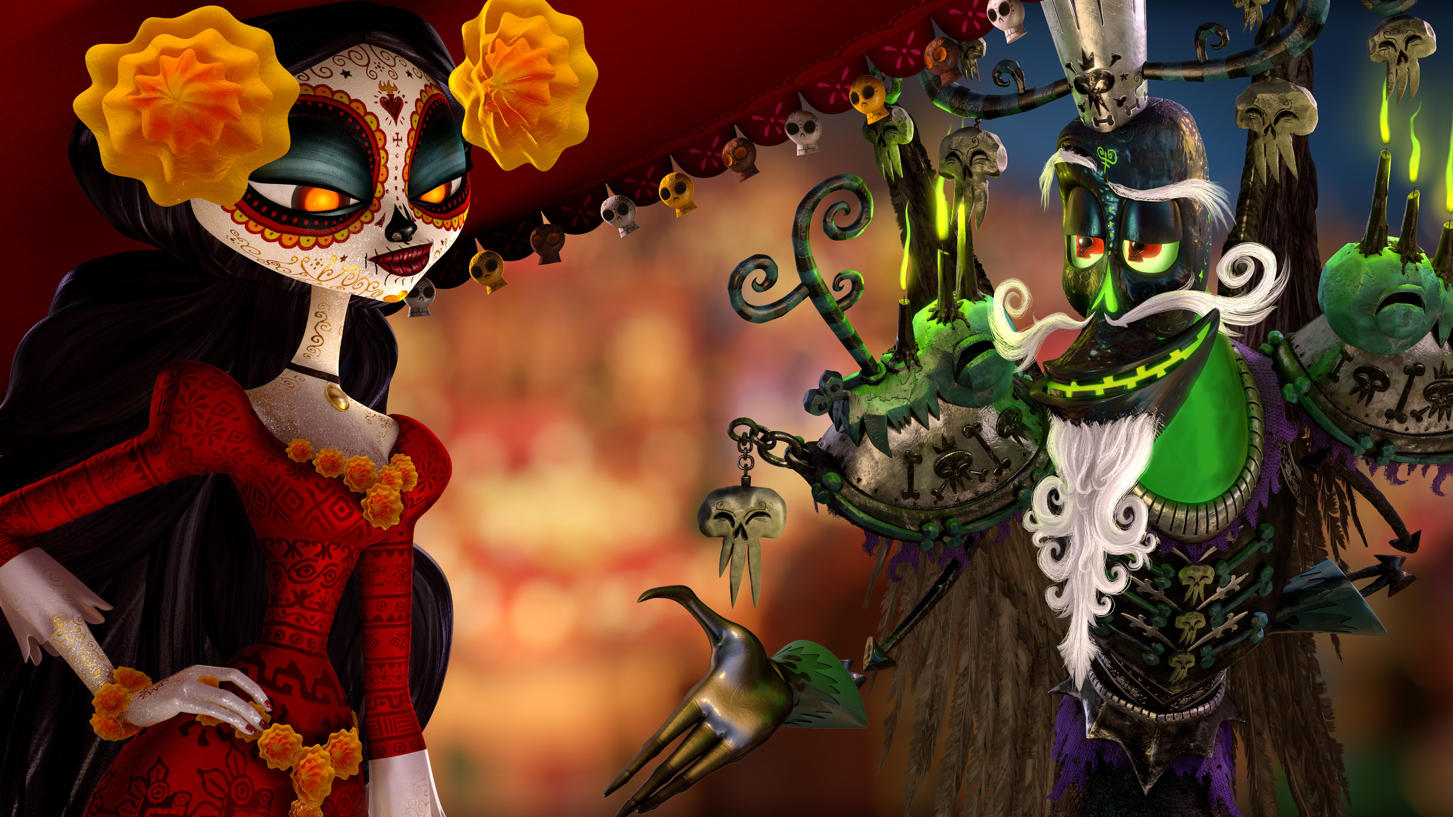 Dia De Muertos Imagenes Animadas: The Book Of Life Full HD Wallpaper And Background Image