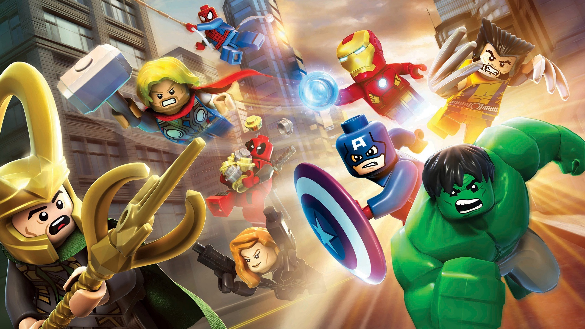 lego marvel super heroes wallpaper hd wallpaper | background image