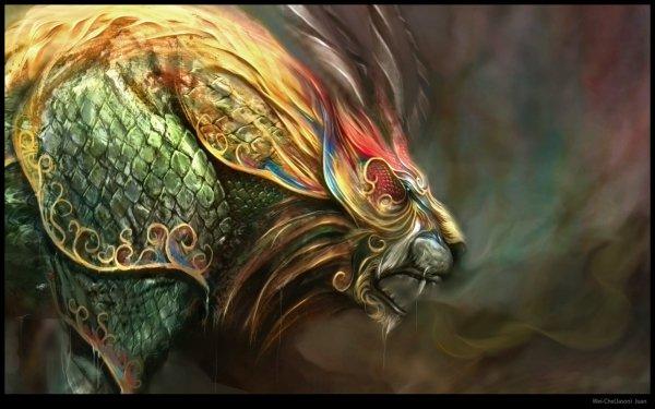 Fantasy Creature Lion HD Wallpaper | Background Image