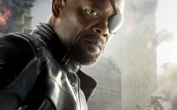 Movie Avengers: Age of Ultron The Avengers Avengers Samuel L. Jackson Nick Fury HD Wallpaper | Background Image