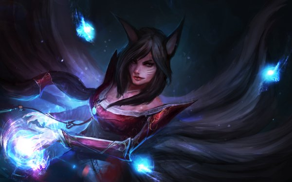 Video Game League Of Legends Ahri HD Wallpaper | Background Image