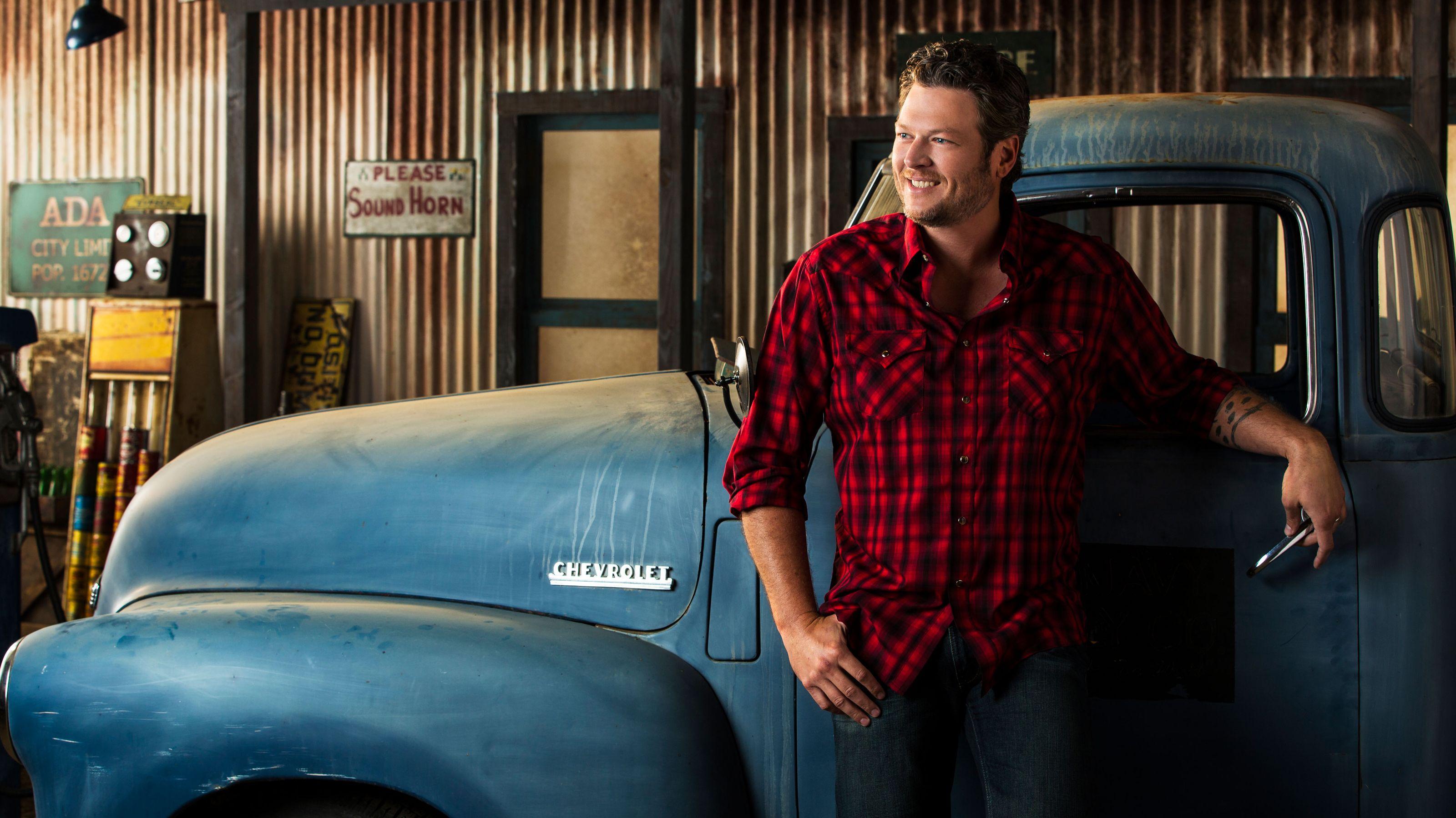Blake Shelton 2 HD Wallpaper