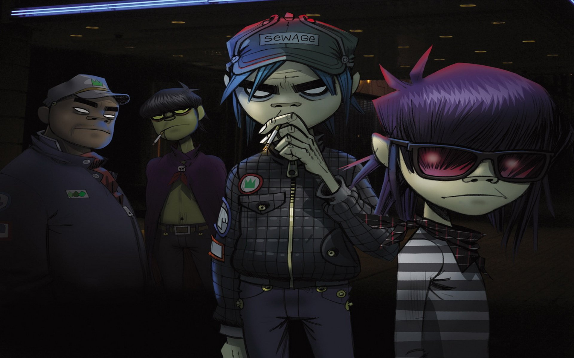 Music - Gorillaz  Wallpaper