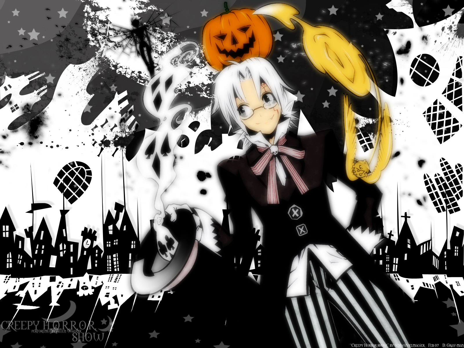 D Gray Man Wallpaper And Background Image 1600x1200 Id 57784
