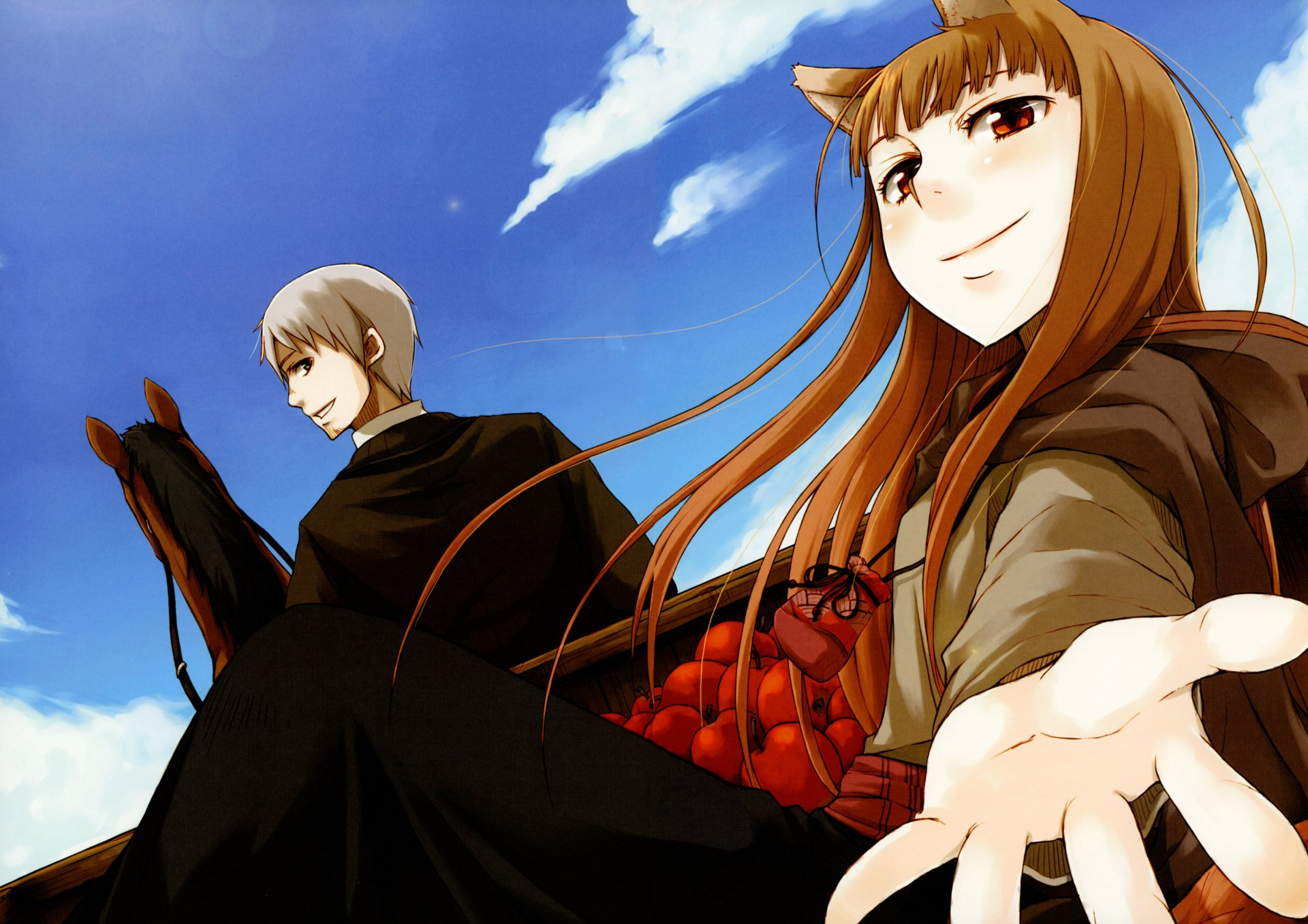 Anime - Spice and Wolf  Kraft Lawrence Holo (Spice & Wolf) Wallpaper