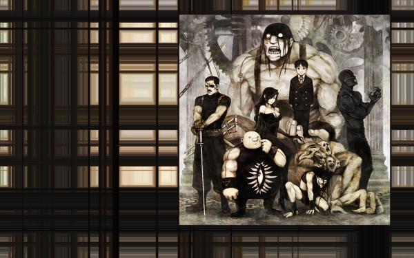 Anime FullMetal Alchemist Fullmetal Alchemist Greed Sloth Envy Lust Wrath Gluttony HD Wallpaper | Background Image