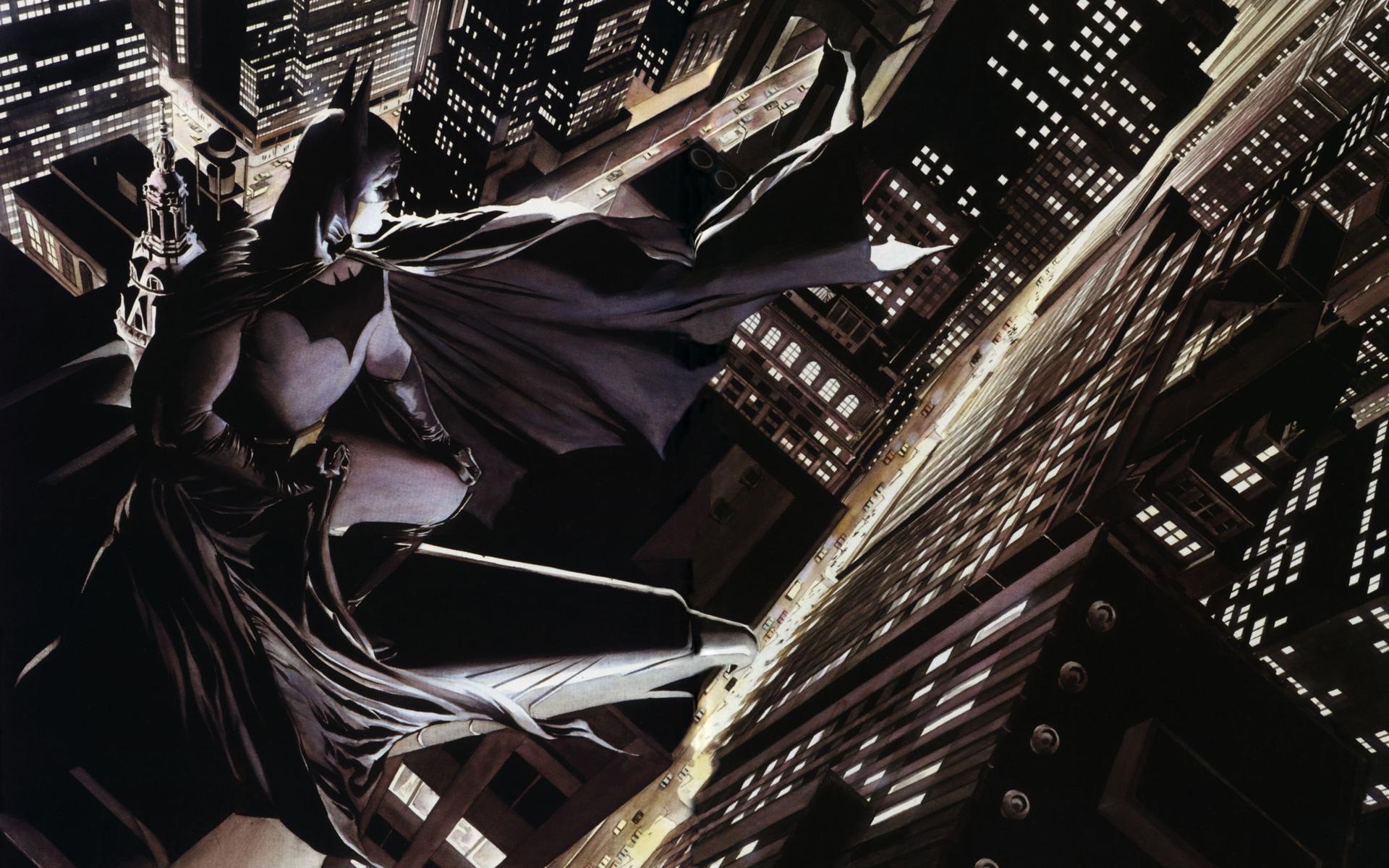 Comics - Batman  Alex Ross Wallpaper