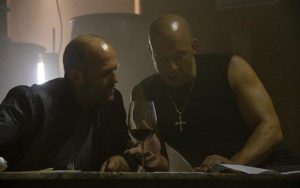 Movie Furious 7 Fast & Furious Dominic Toretto Vin Diesel Deckard Shaw Jason Statham HD Wallpaper | Background Image