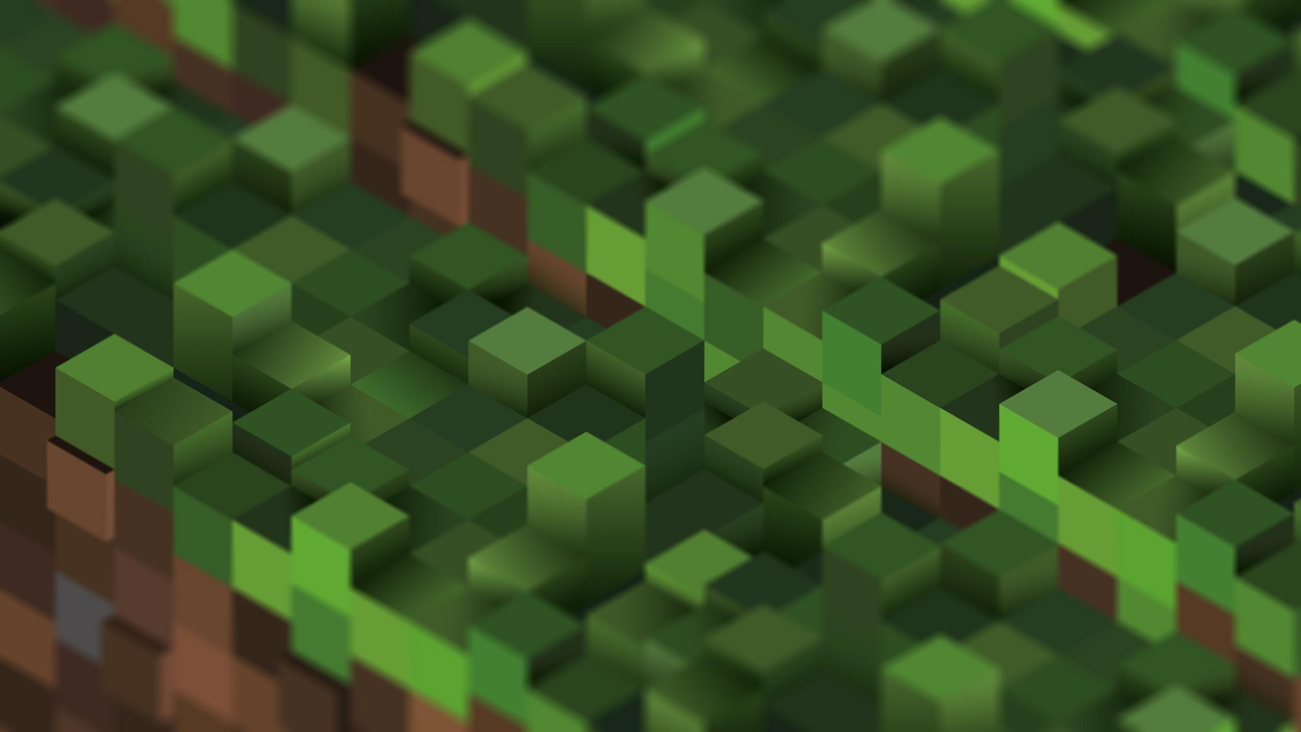 Minecraft Hd Wallpaper Background Image 2560x1440 Id