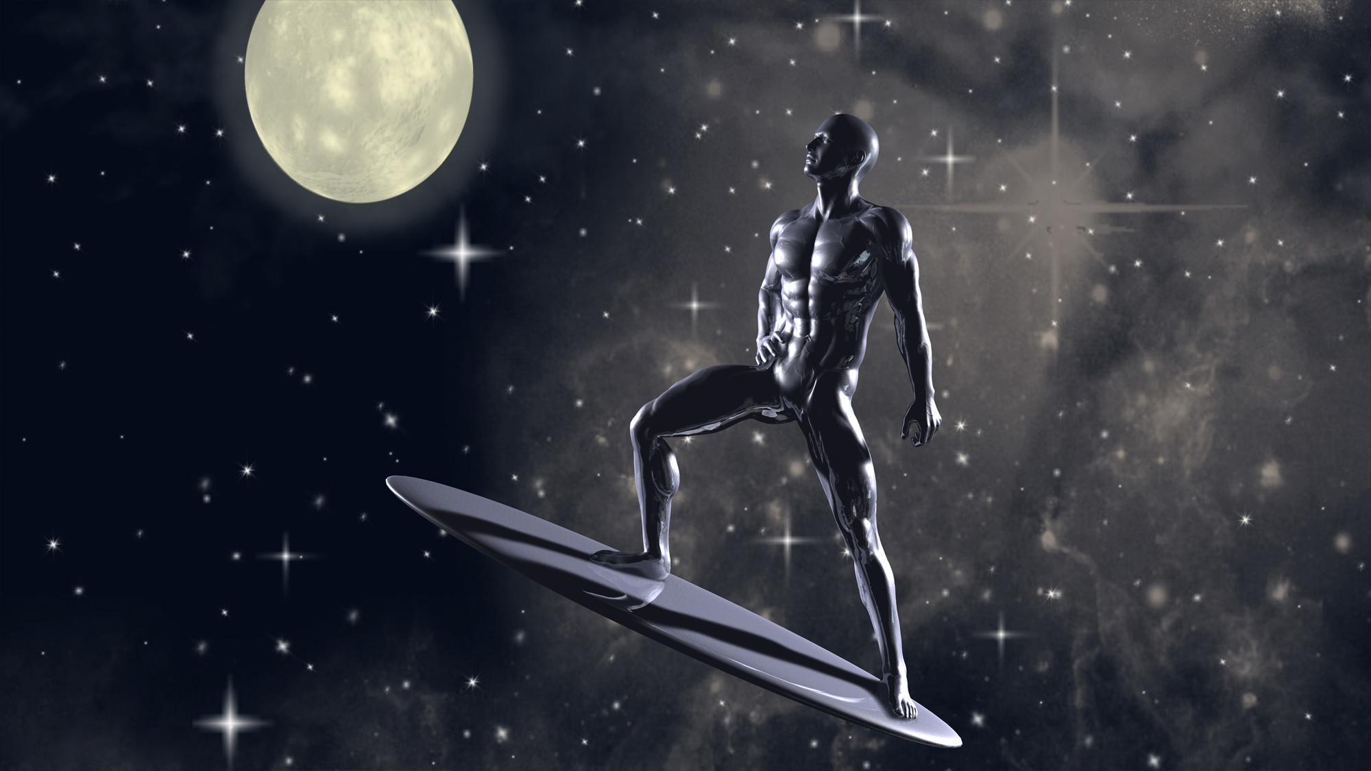 Silver Surfer Computer Wallpapers Desktop Backgrounds