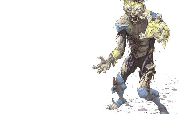 Comics Invincible Image Comics Invaders Zombie Mark Grayson HD Wallpaper   Background Image
