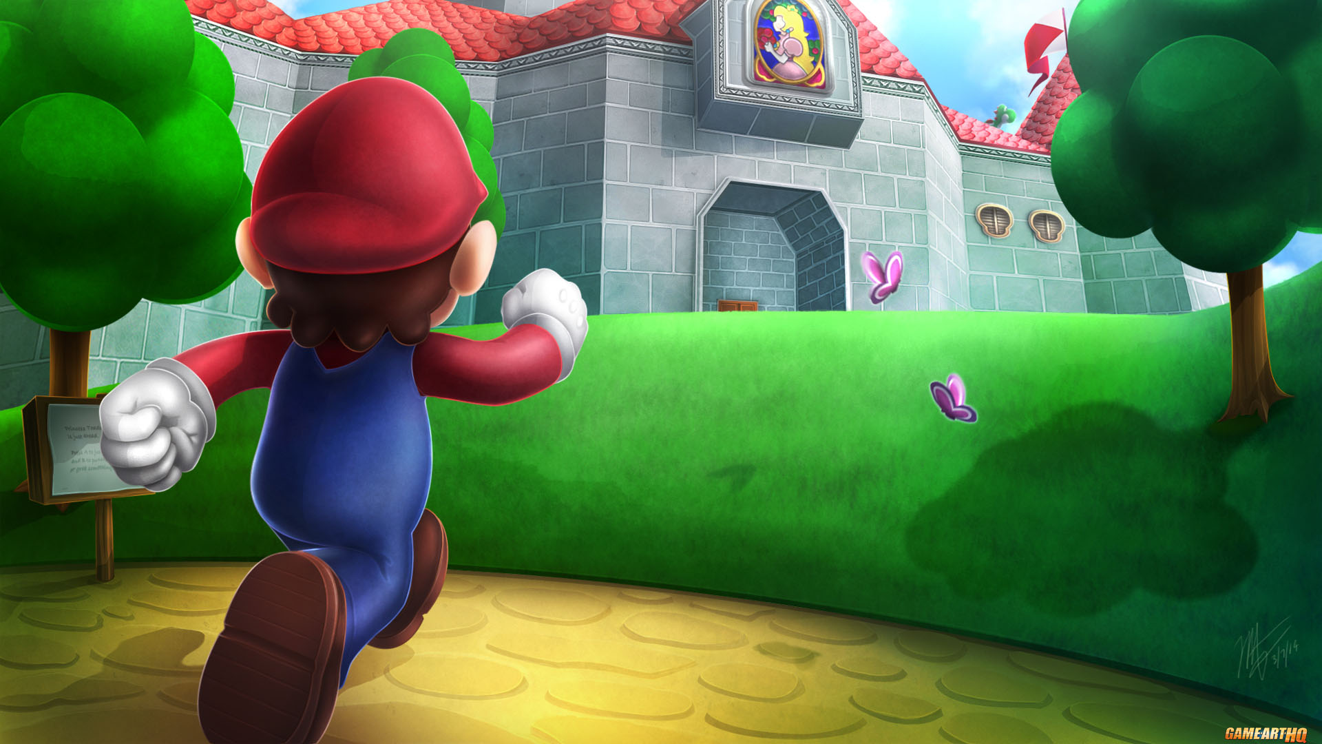 7 Super Mario 64 HD Wallpapers : Backgrounds - Wallpaper Abyss