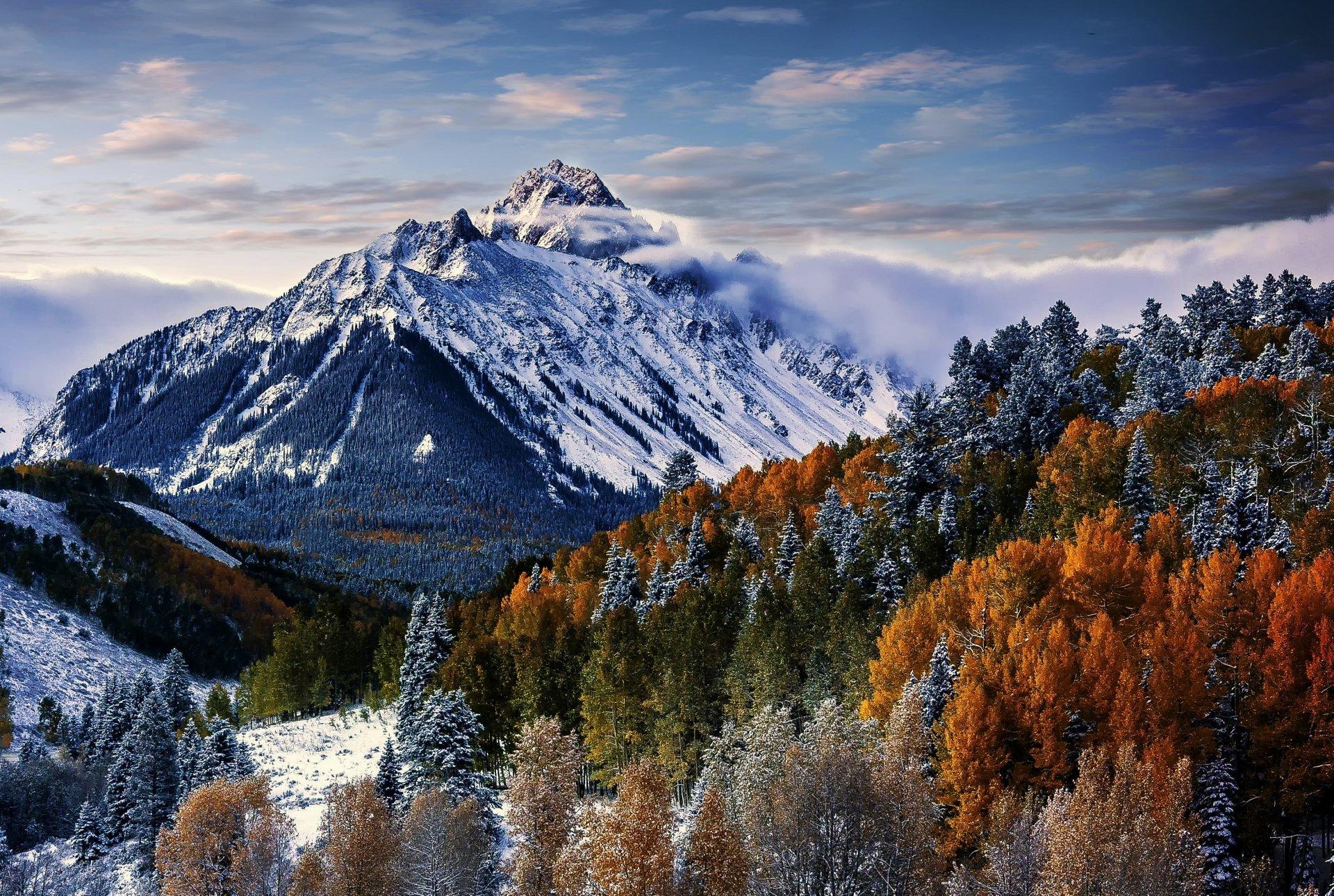 Majestic mount sneffles hd wallpaper background image - Colorado desktop background ...