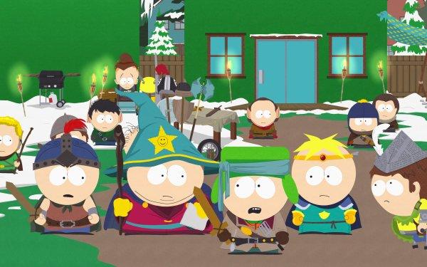 TV Show South Park Stan Marsh Eric Cartman Kyle Broflovski Butters Stotch Jimmy Valmer Craig Tucker Timmy Burch HD Wallpaper | Background Image