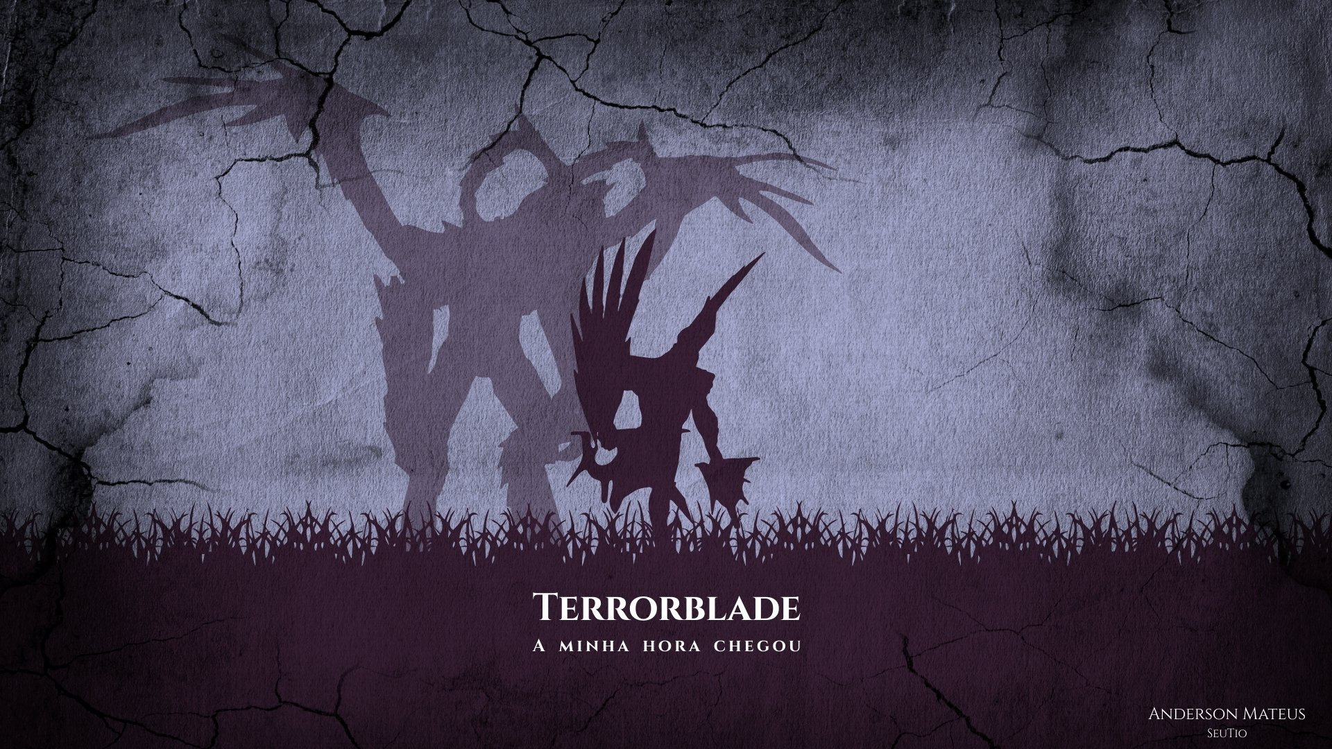 Terrorblade Minimalista Full HD Wallpaper and Background ...