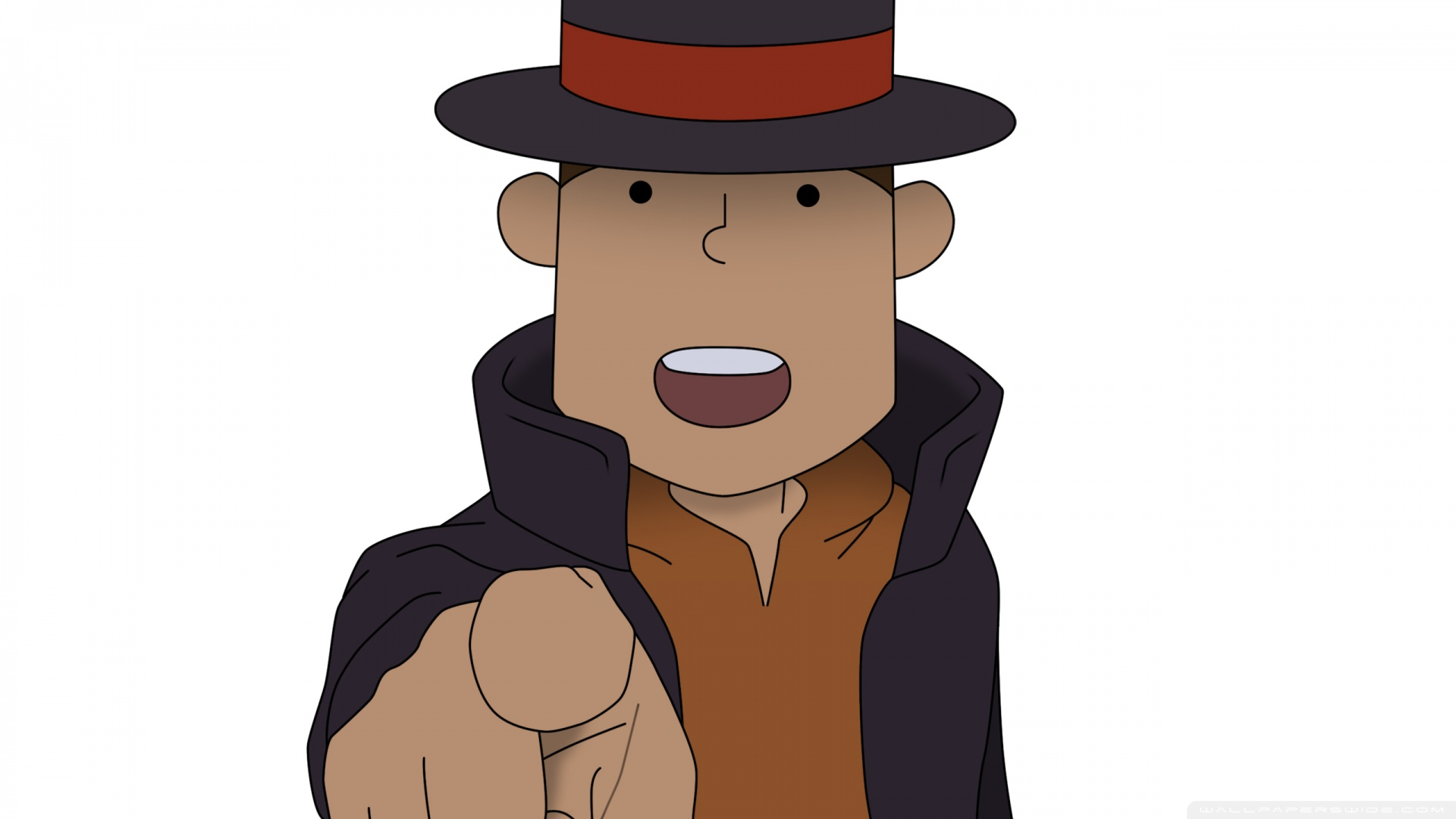 Professor Layton And The Unwound Future Hd Wallpaper Background