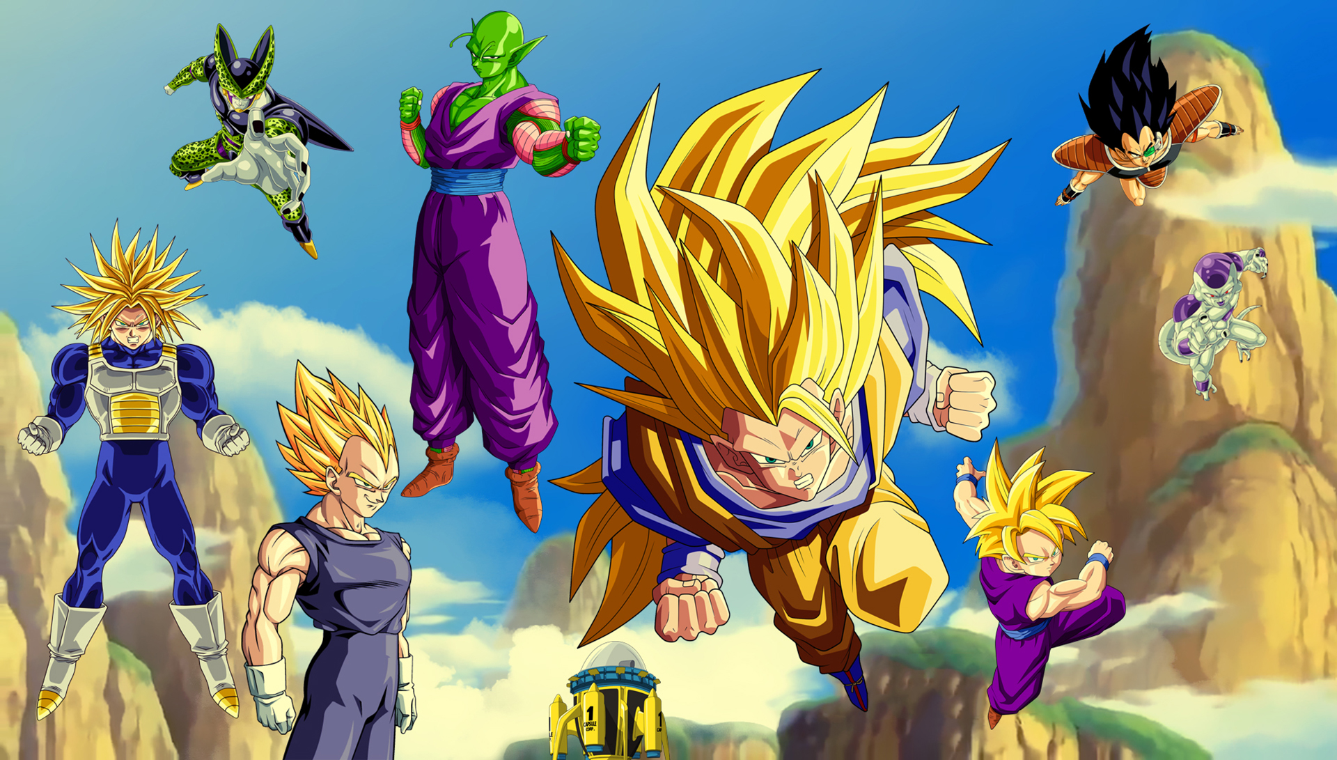 Dragon Ball Z Poster 2 Wallpaper And Background Image