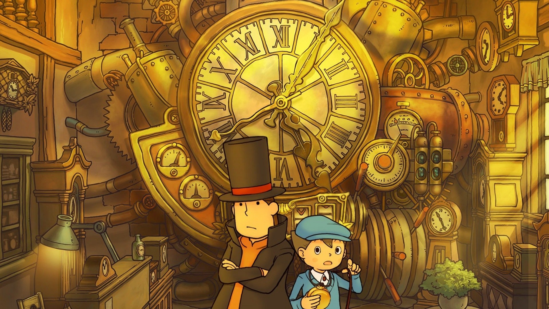 2 Professor Layton And The Unwound Future Hd Wallpapers