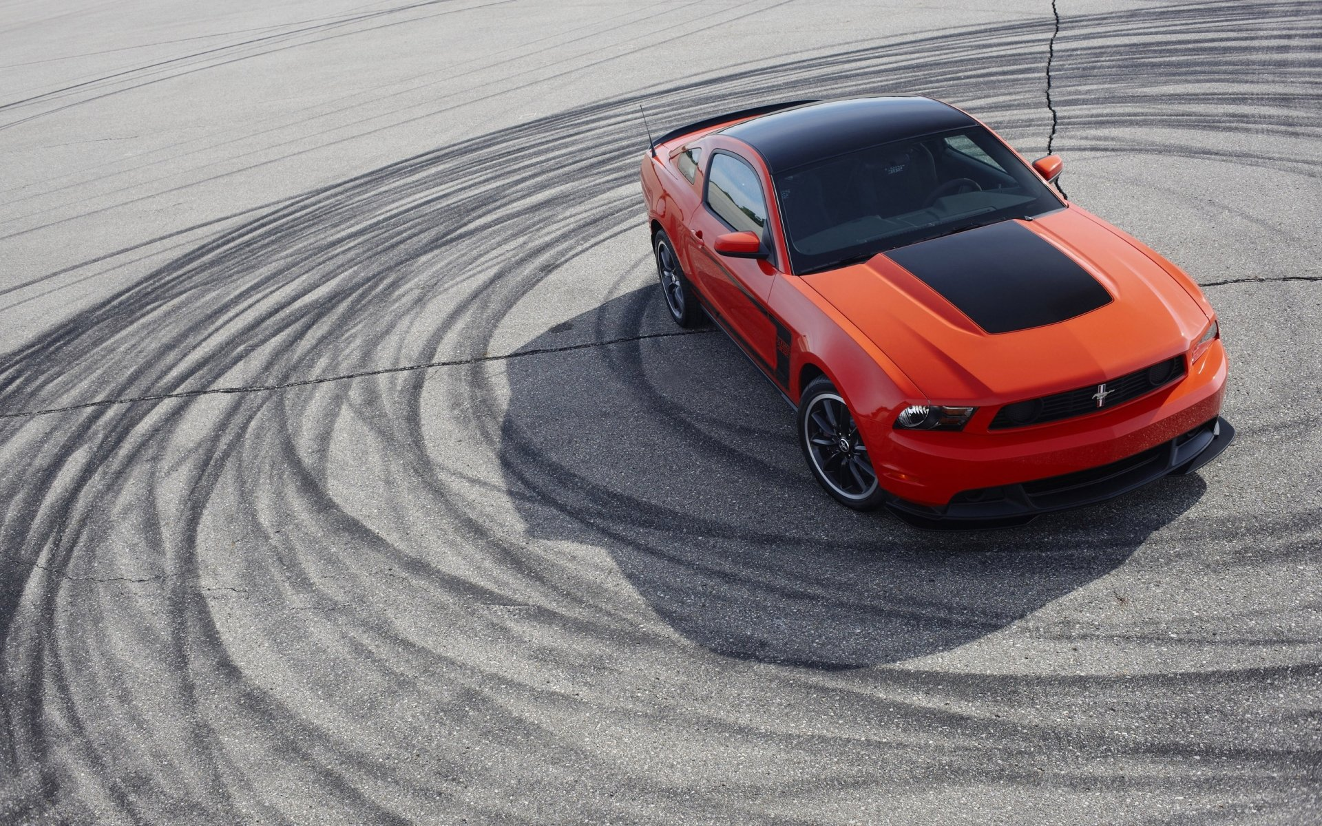 Vehicles - Ford Mustang Boss 302  Red Car Car Vehicle Muscle Car Ford Mustang Boss Ford Ford Mustang Wallpaper