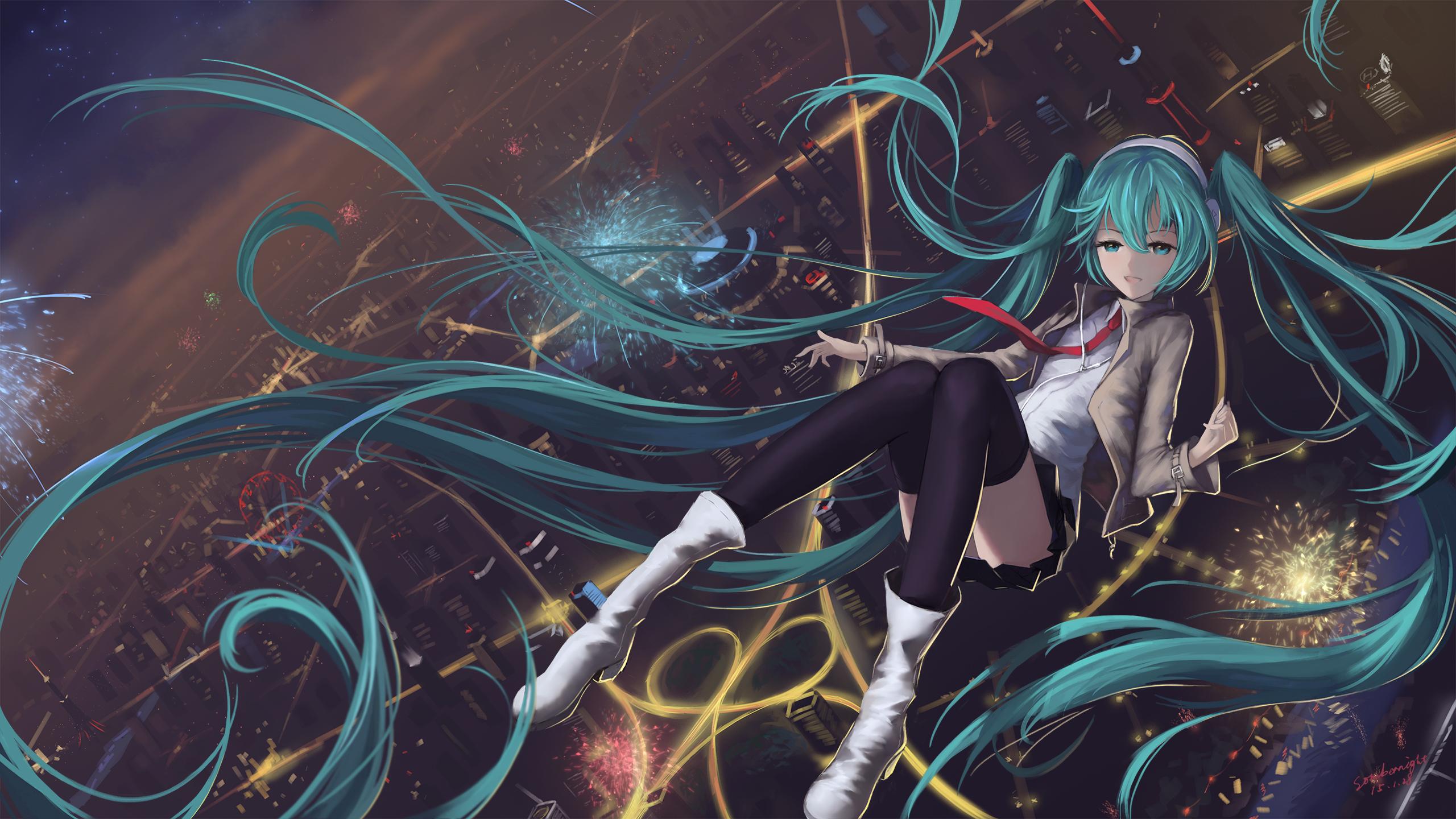 Vocaloid fondo de pantalla hd fondo de escritorio - Anime para fondo ...