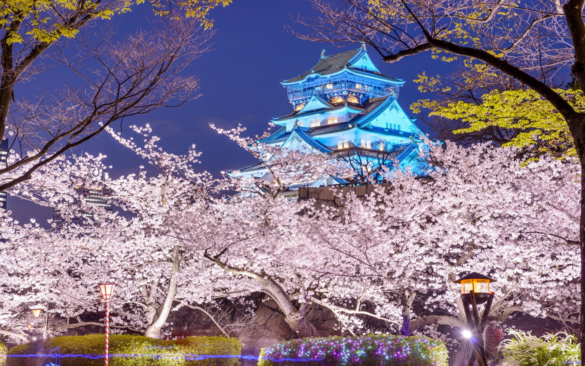 Osaka Castle HD Wallpaper