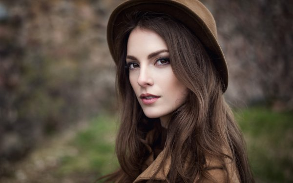 Women Karina Suntseva Models Russia Model Hat Karina Sunceva HD Wallpaper | Background Image