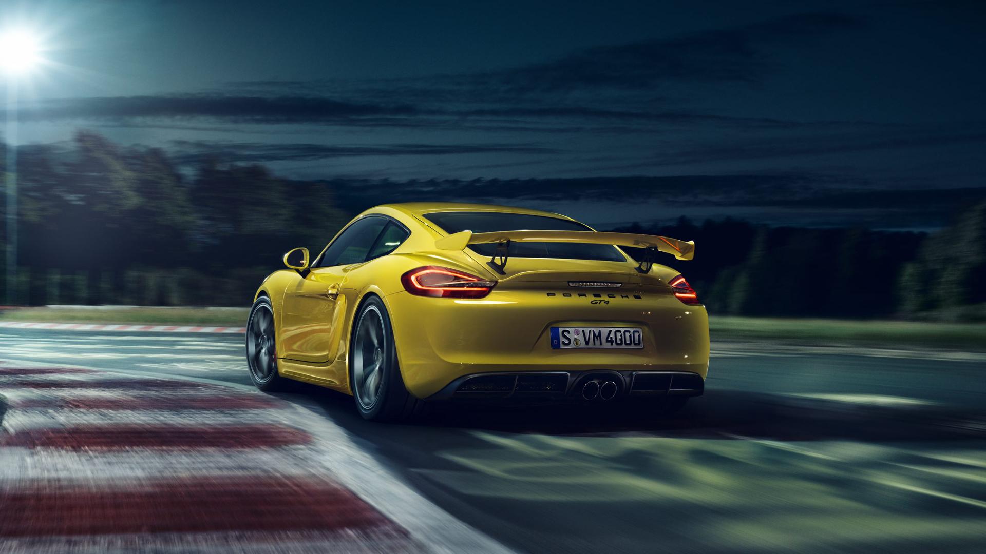 Cayman Gt4 Wall Paper: Porsche Cayman GT4 HD Wallpaper