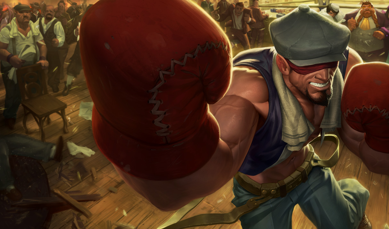 Knockout Lee Sin Wallpaper And Background Image 1301x768 Id