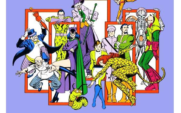 Comics Batman Penguin Riddler Joker HD Wallpaper | Background Image