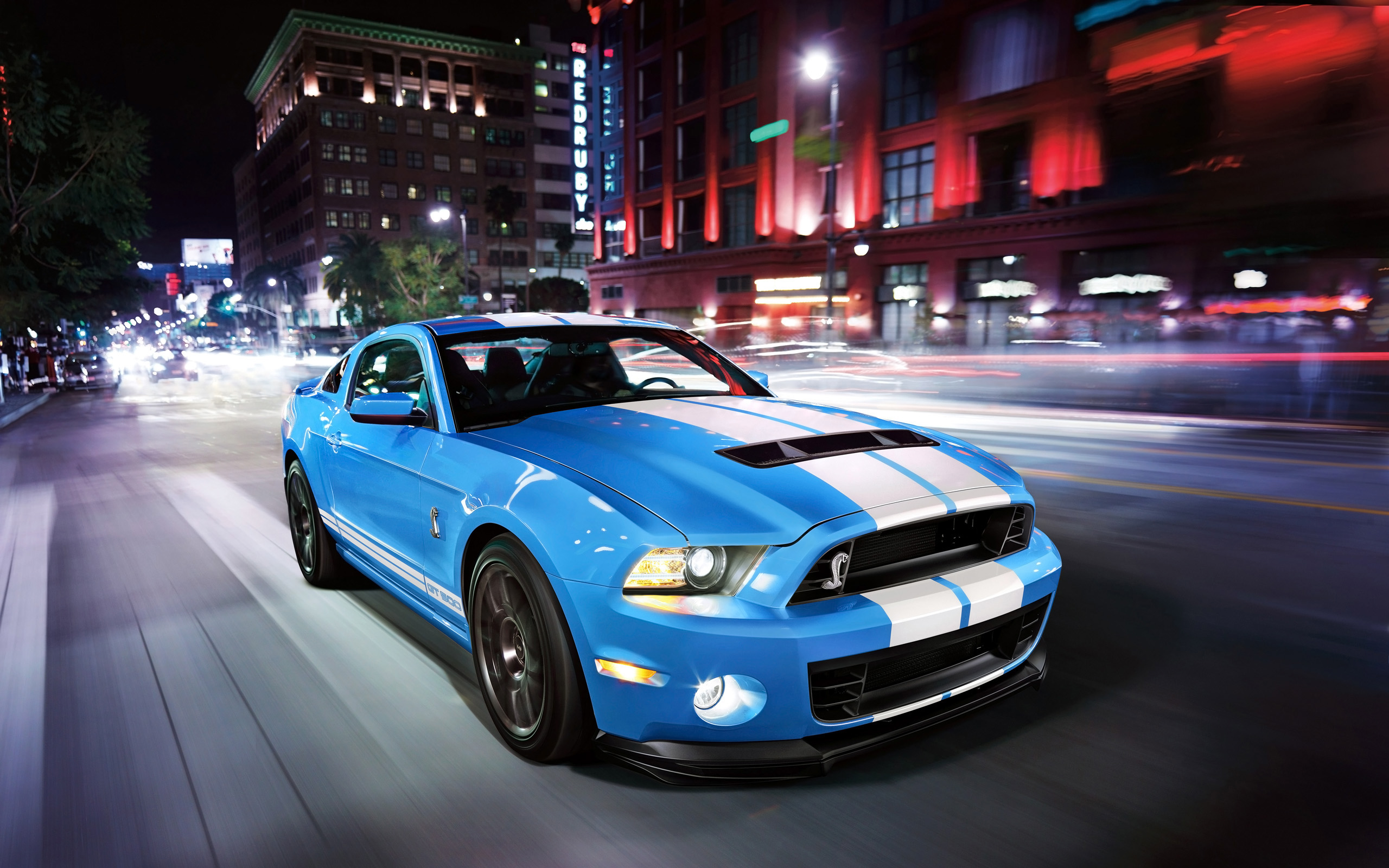 Ford Mustang Shelby GT500 Muscle Car Vehicle Wallpapers ID598434