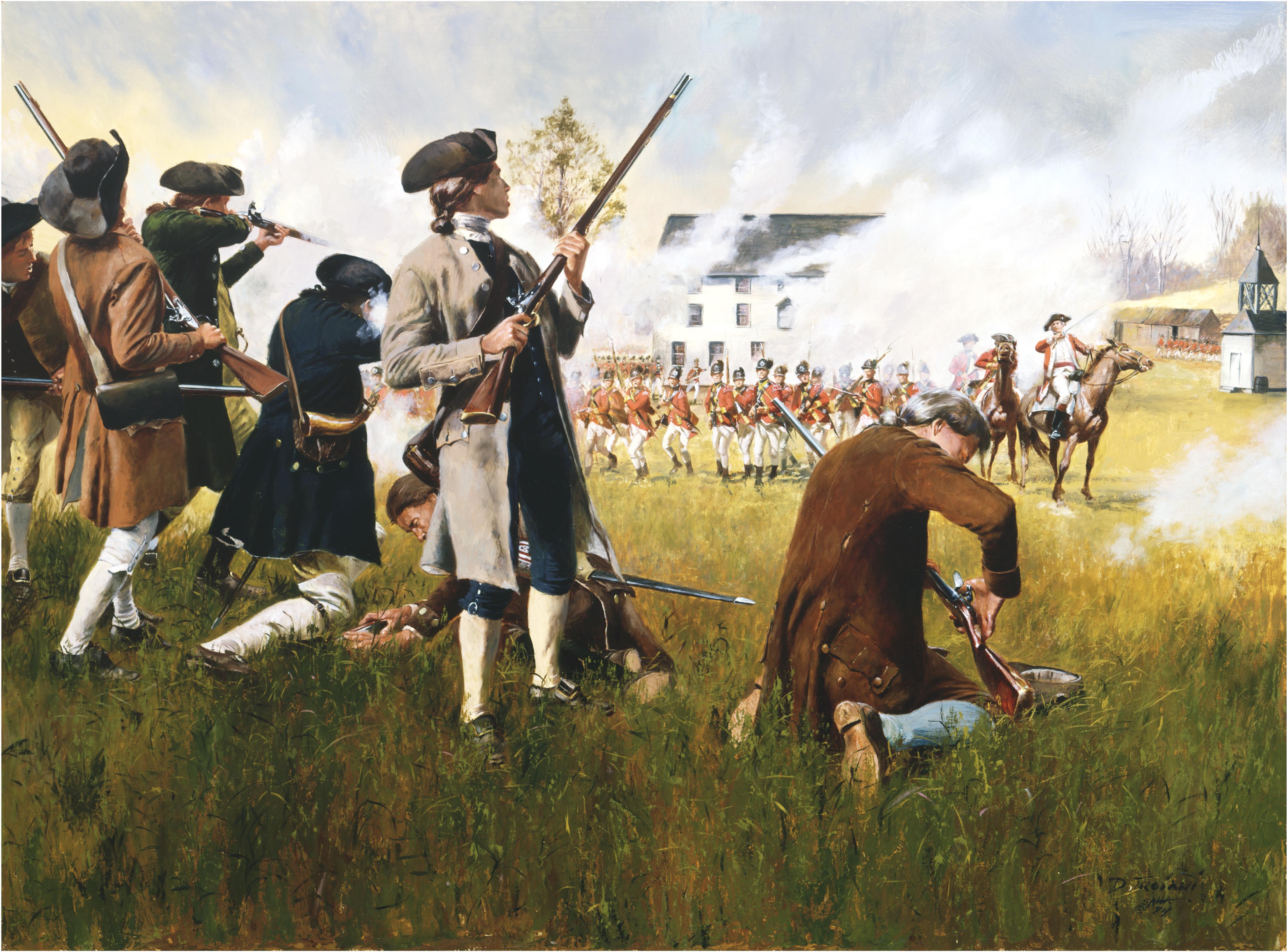 American Revolutionary War 4k Ultra HD Wallpaper
