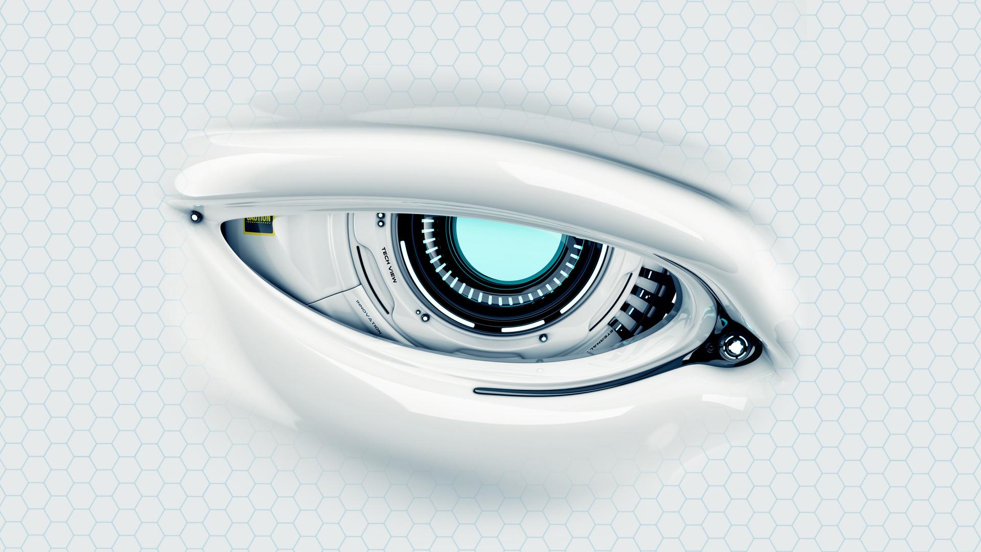 Cyber Eye Full HD Wallpaper and Background 1920x1080 ID600287