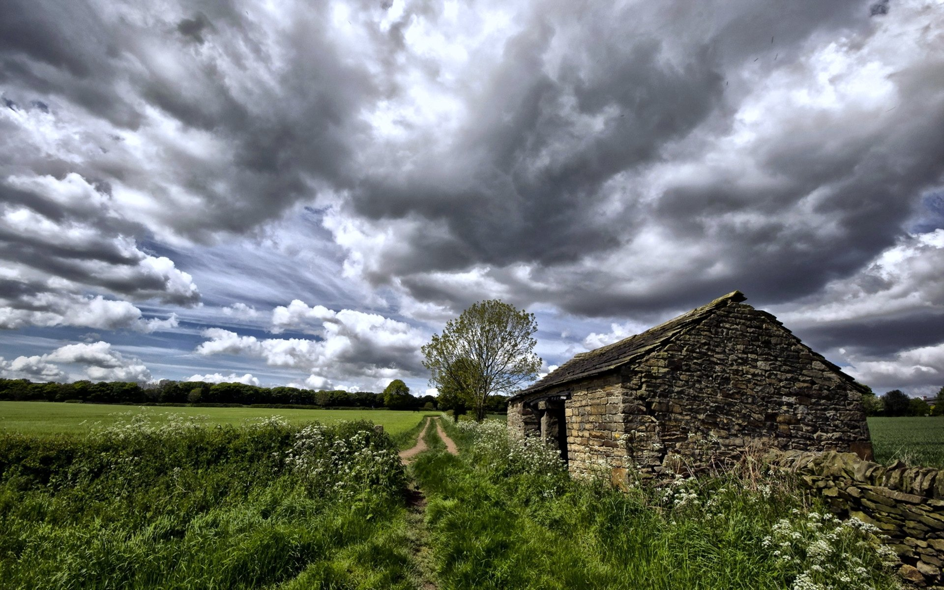 earth road fields countryside - photo #46