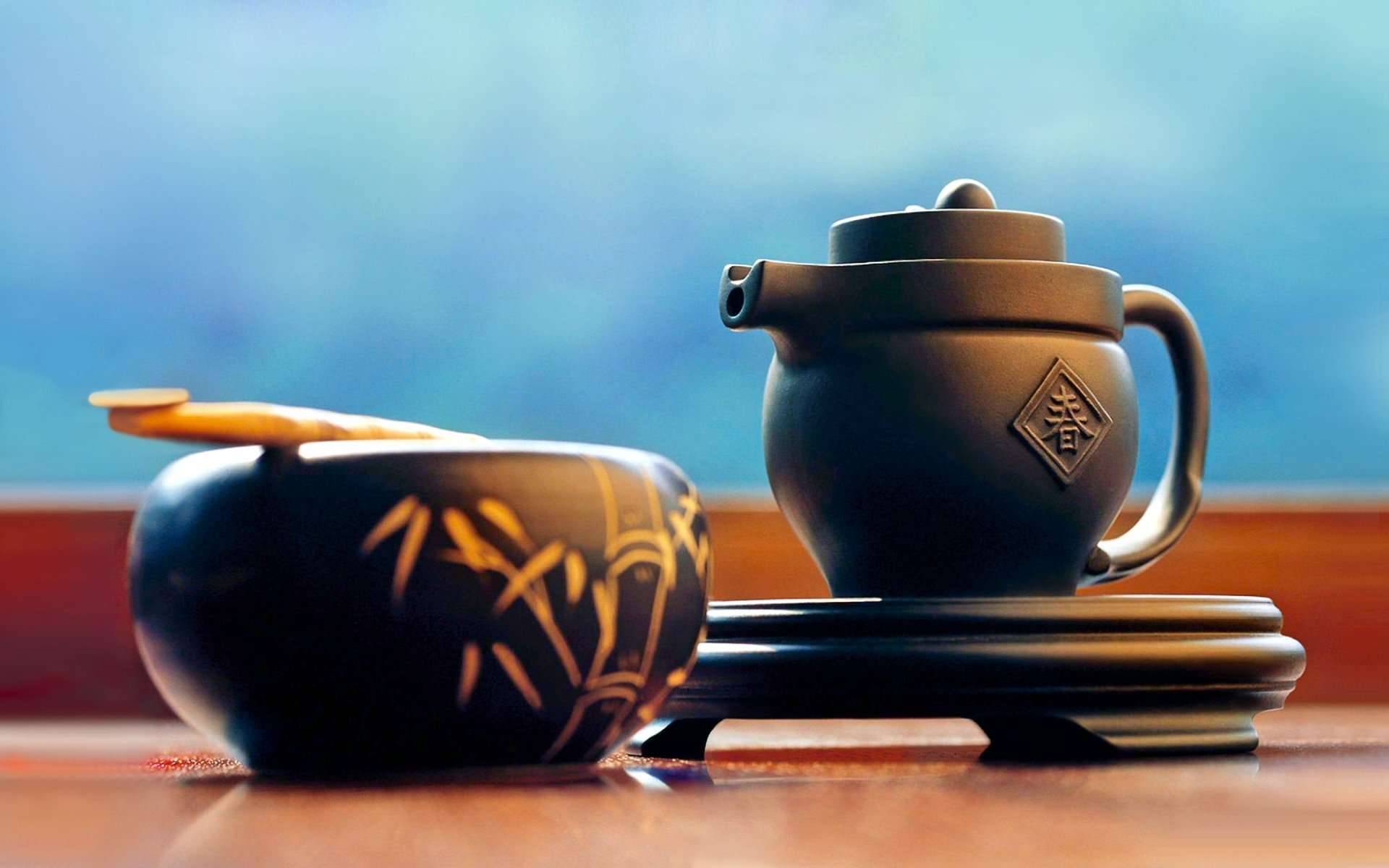Food - Tea  Zen Asian Oriental Drink Wallpaper