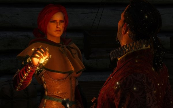 Video Game The Witcher 3: Wild Hunt The Witcher Triss Merigold HD Wallpaper | Background Image