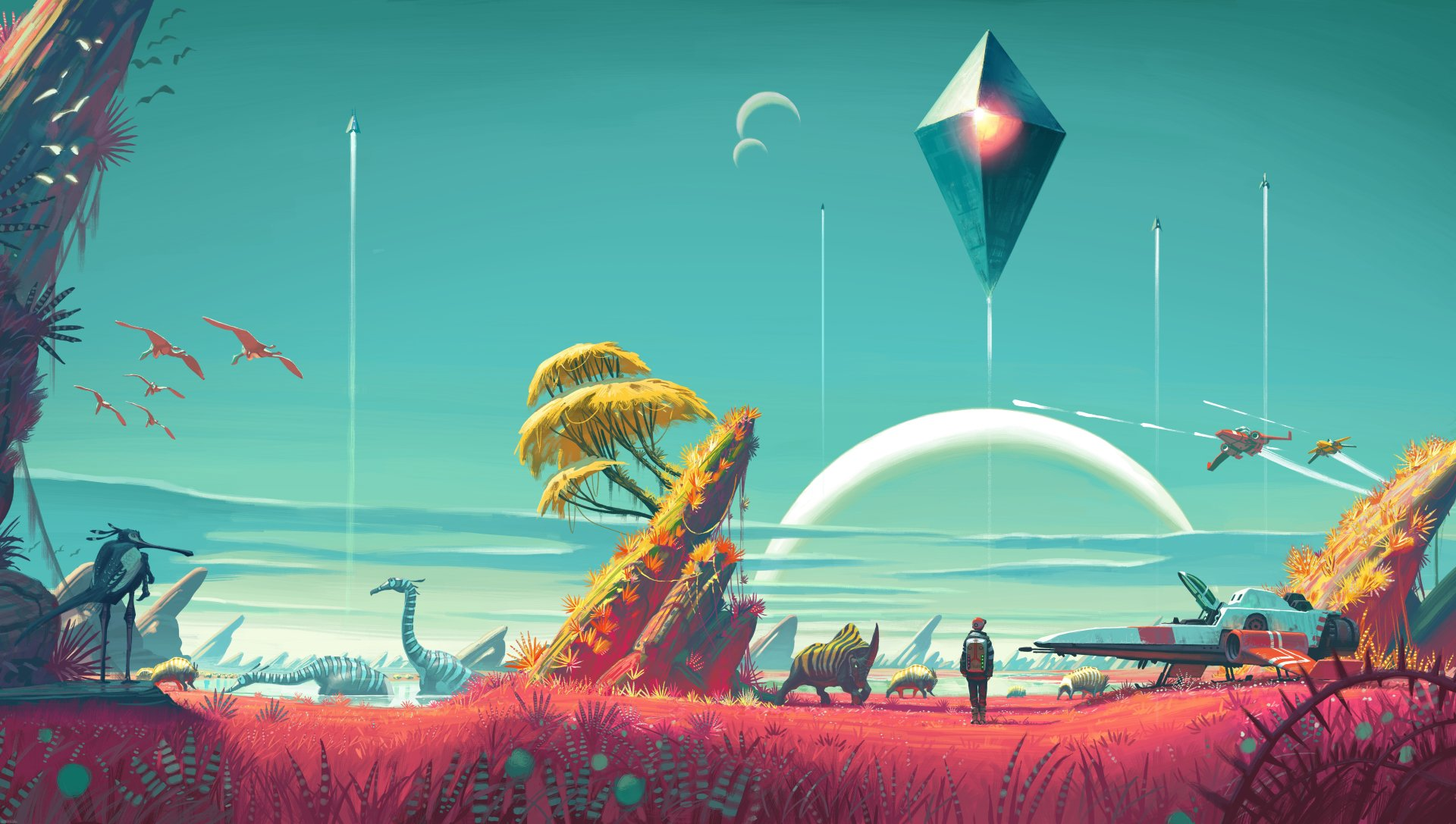 107 No Mans Sky HD Wallpapers