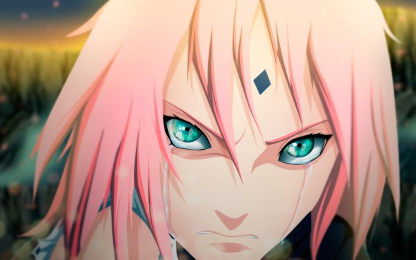 Anime Naruto Sakura Haruno HD Wallpaper   Achtergrond