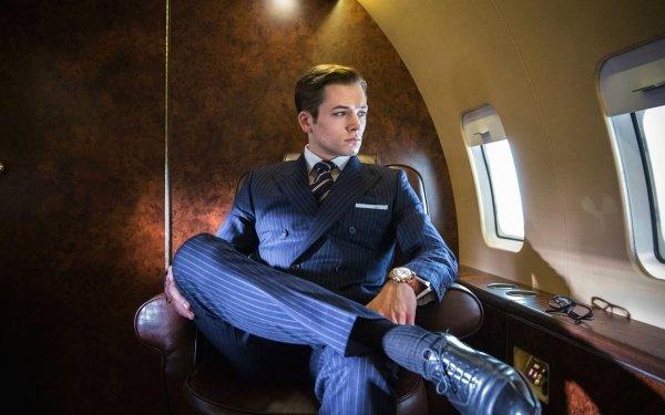 Movie Kingsman: The Secret Service Taron Egerton HD Wallpaper | Background Image