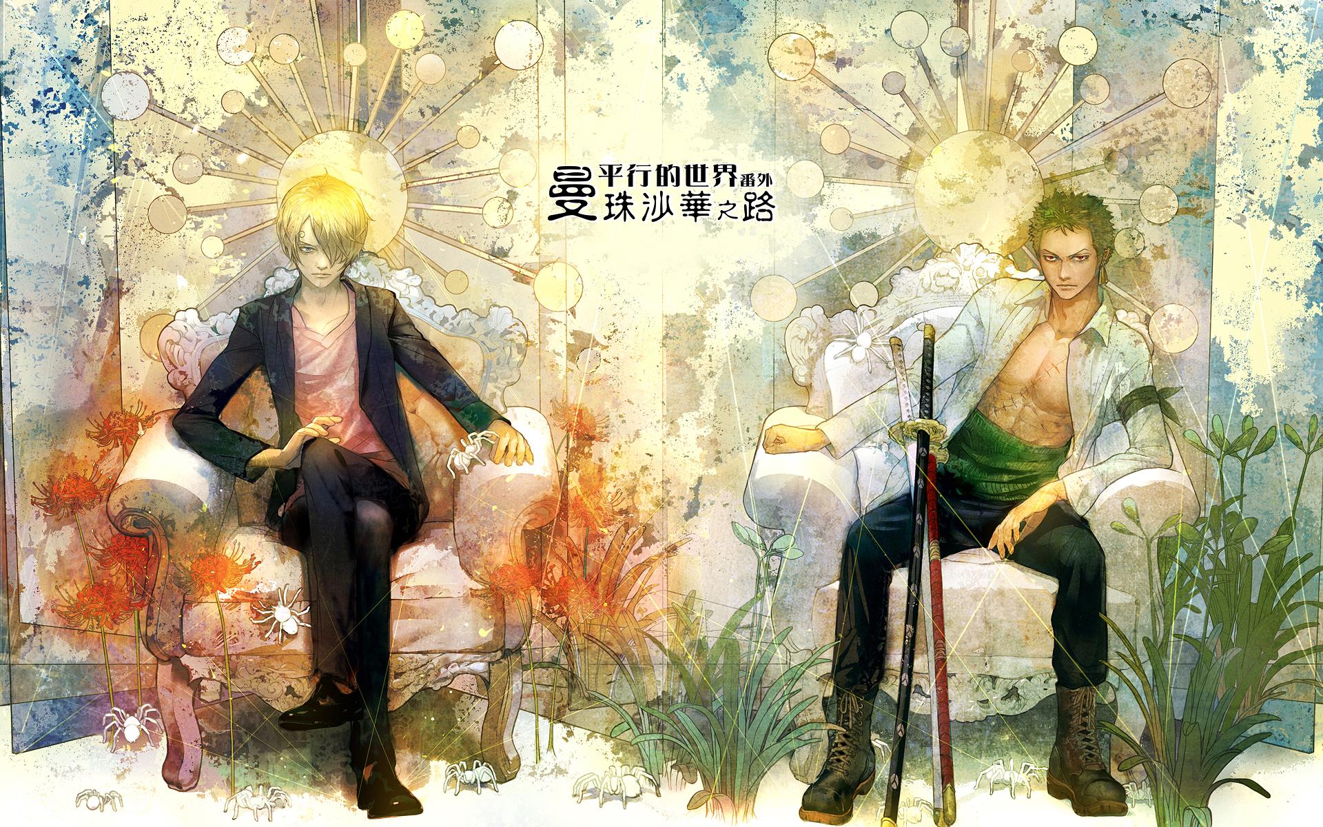 Zoro and Sanji HD Wallpaper | Background Image | 1920x1200 | ID:606669 - Wallpaper Abyss