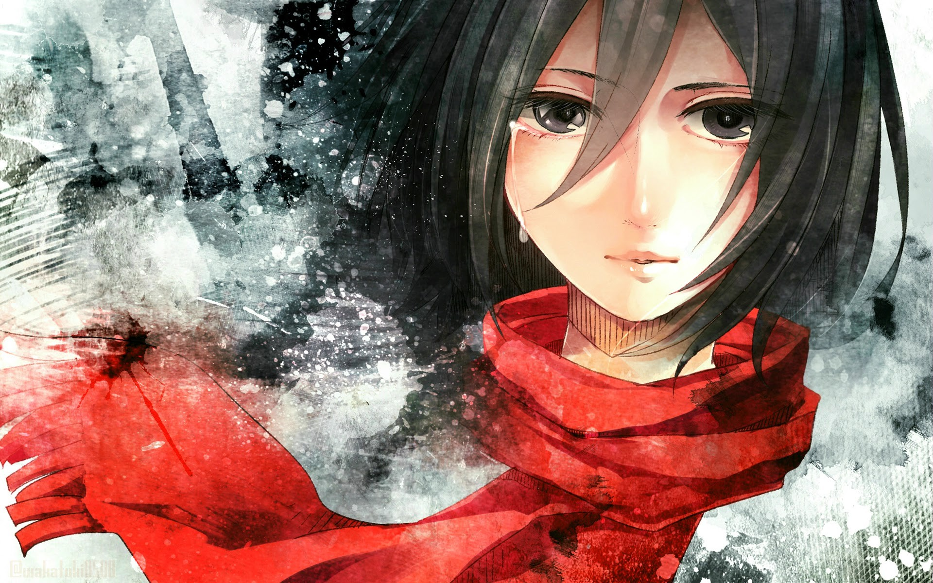 Attack Of Titan Mikasa Hd Wallpaper Background Image 1920x1200 Id 607869 Wallpaper Abyss