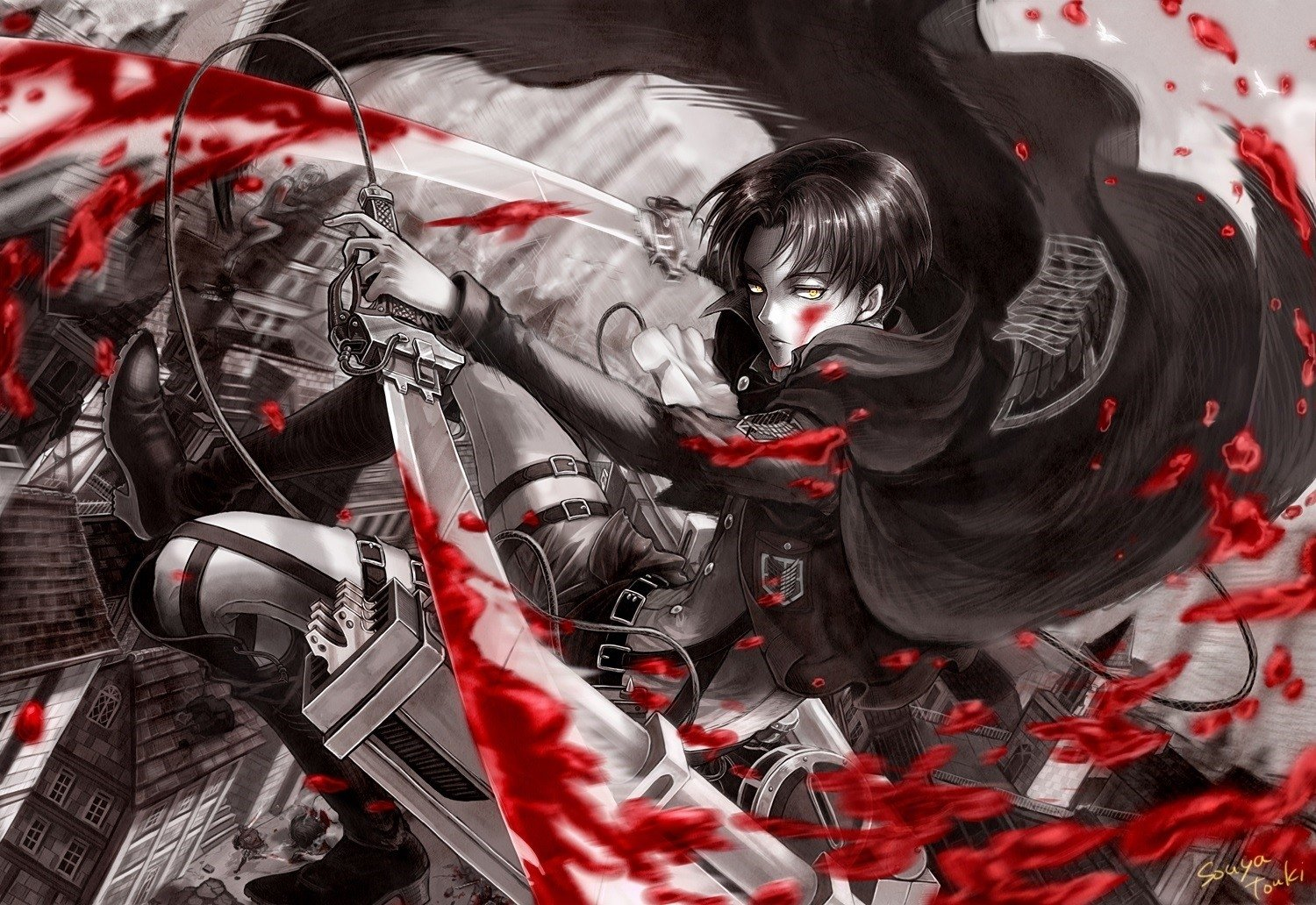 1529 attack on titan hd wallpapers background images wallpaper abyss hd wallpaper background image id607877 voltagebd Image collections