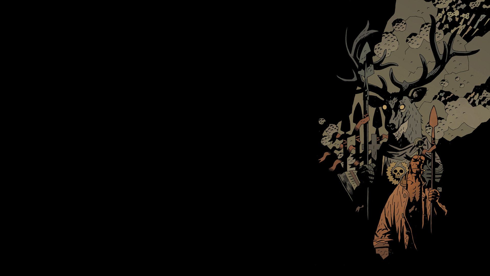 1 hellboy the wild hunt hd wallpapers backgrounds
