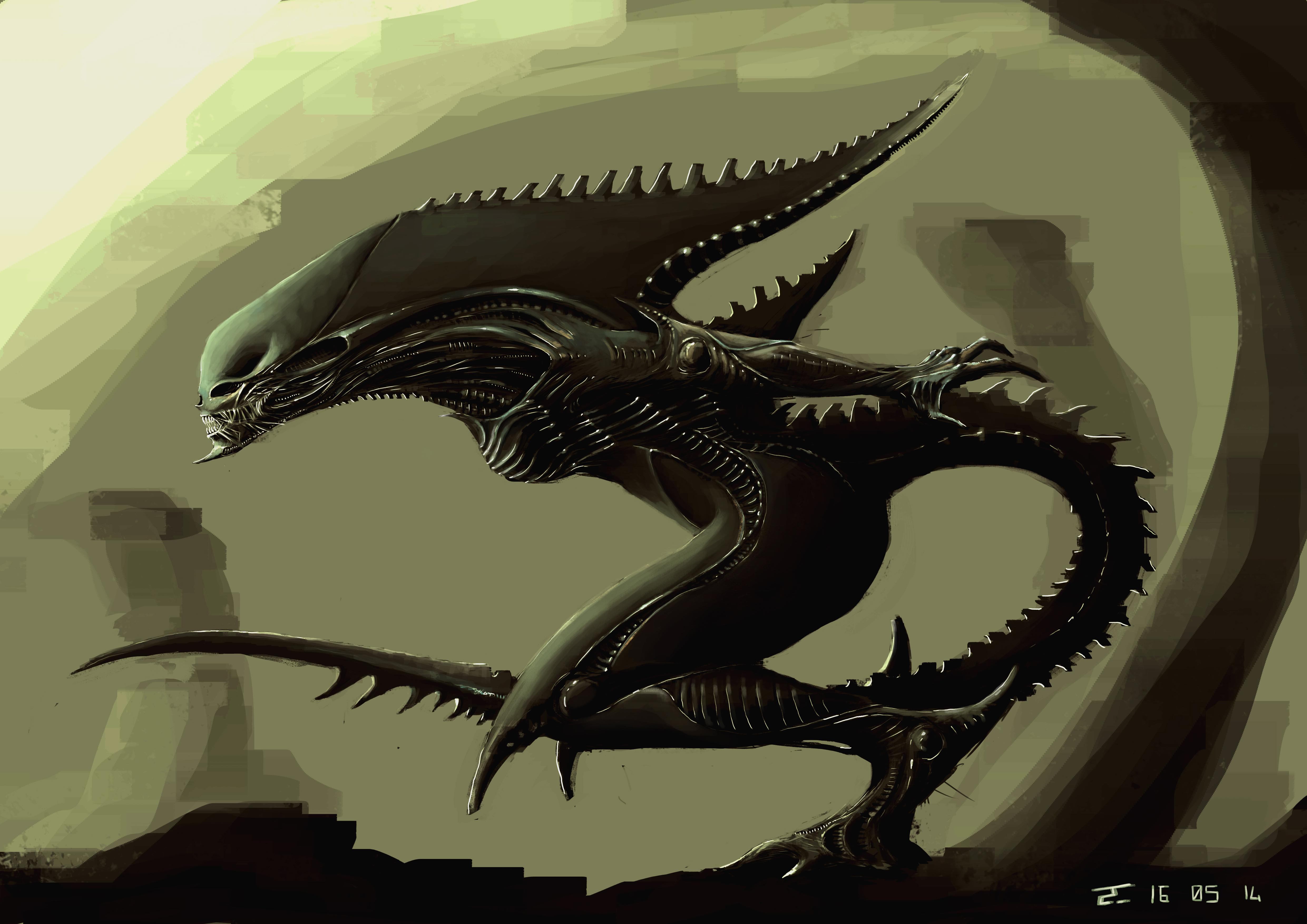 Alien 4k Ultra Papel De Parede HD