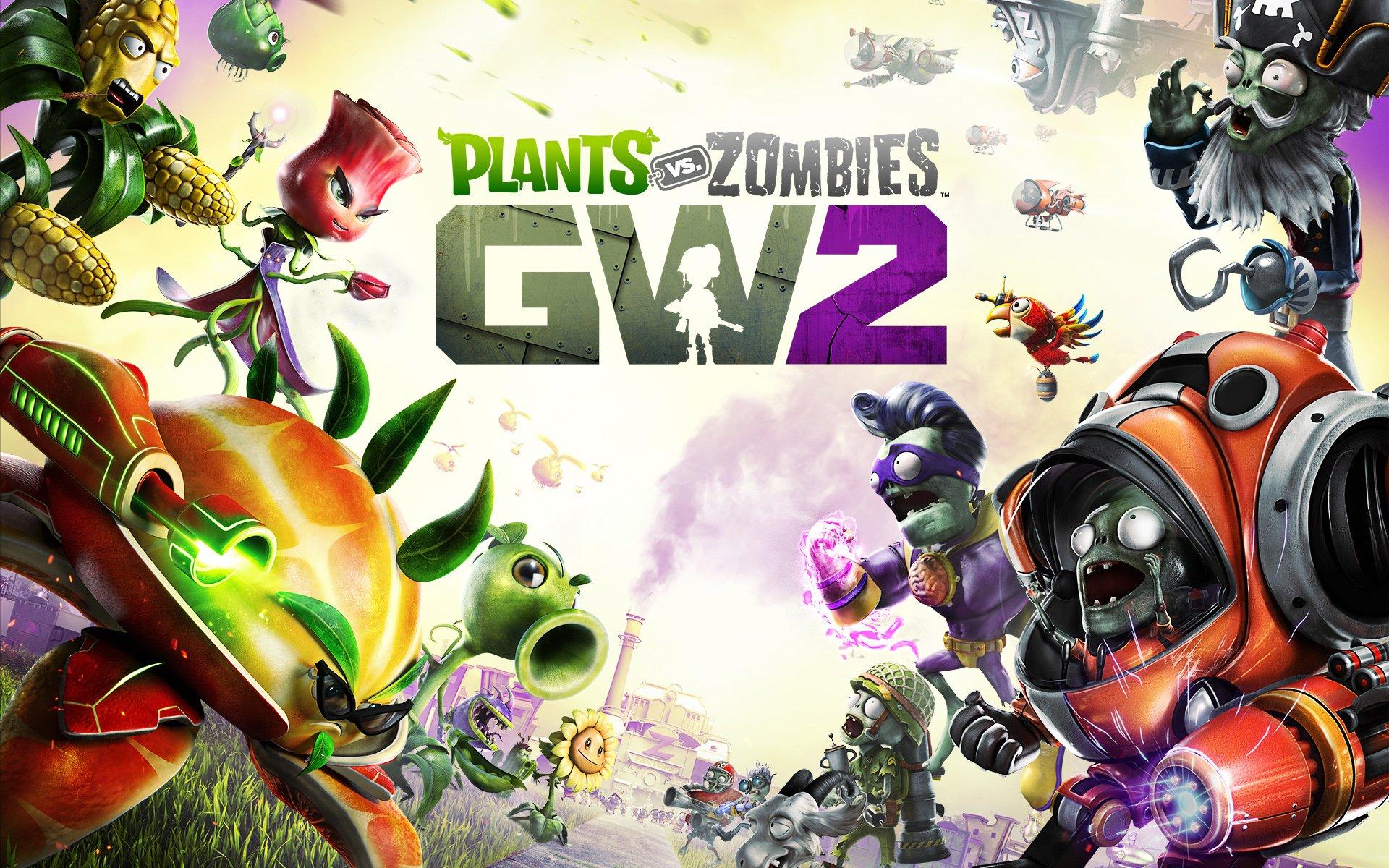 7 Plants Vs Zombies Garden Warfare 2 Hd Wallpapers Background