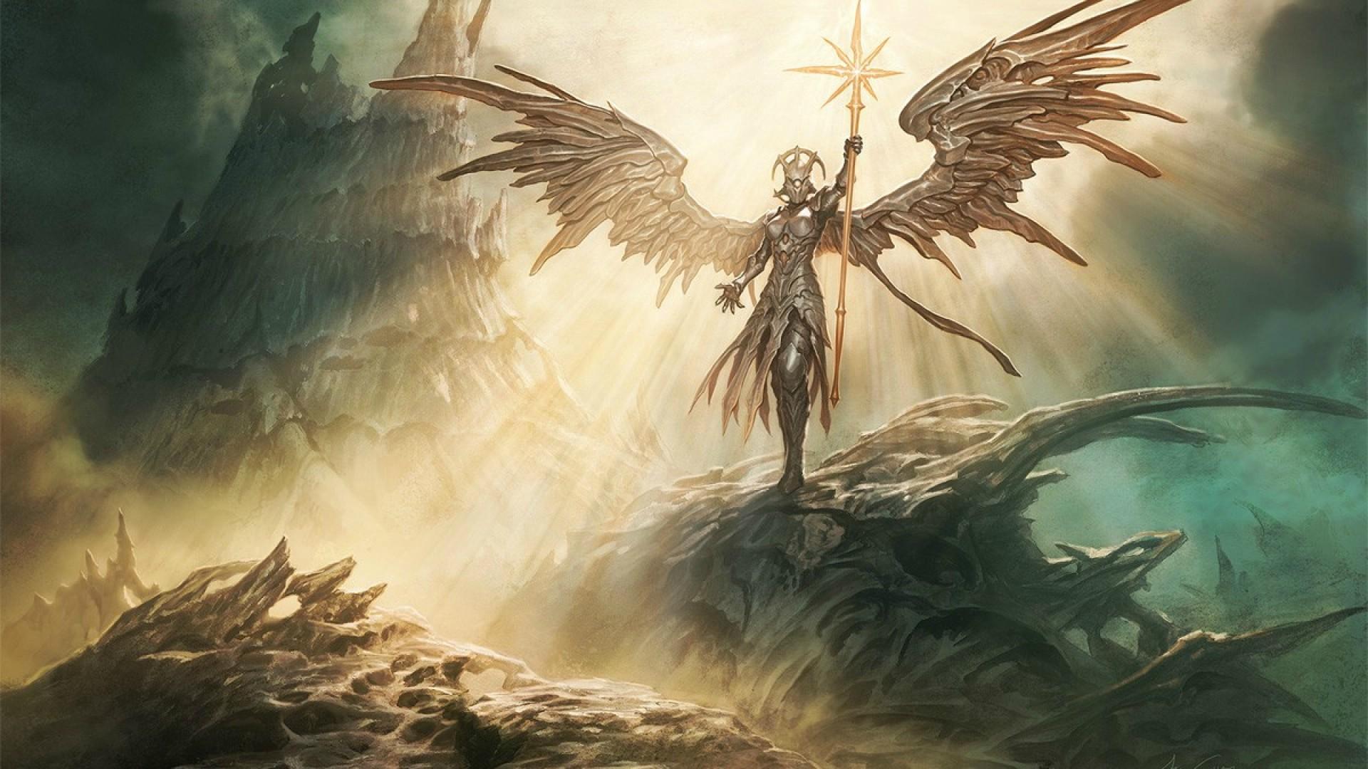 Artwork Fantasy Art Angel Wallpapers Hd Desktop And: Sunblast Angel HD Wallpaper