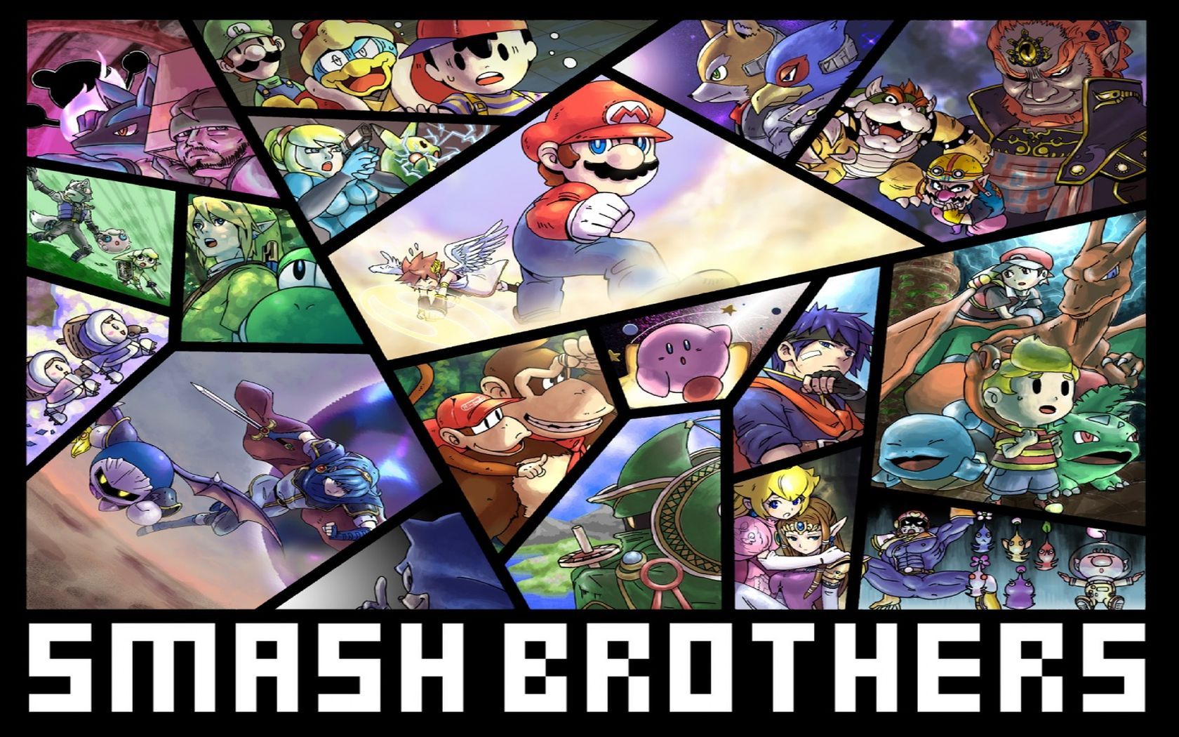 Super Smash Bros Brawl Wallpaper And Background Image 1680x1050