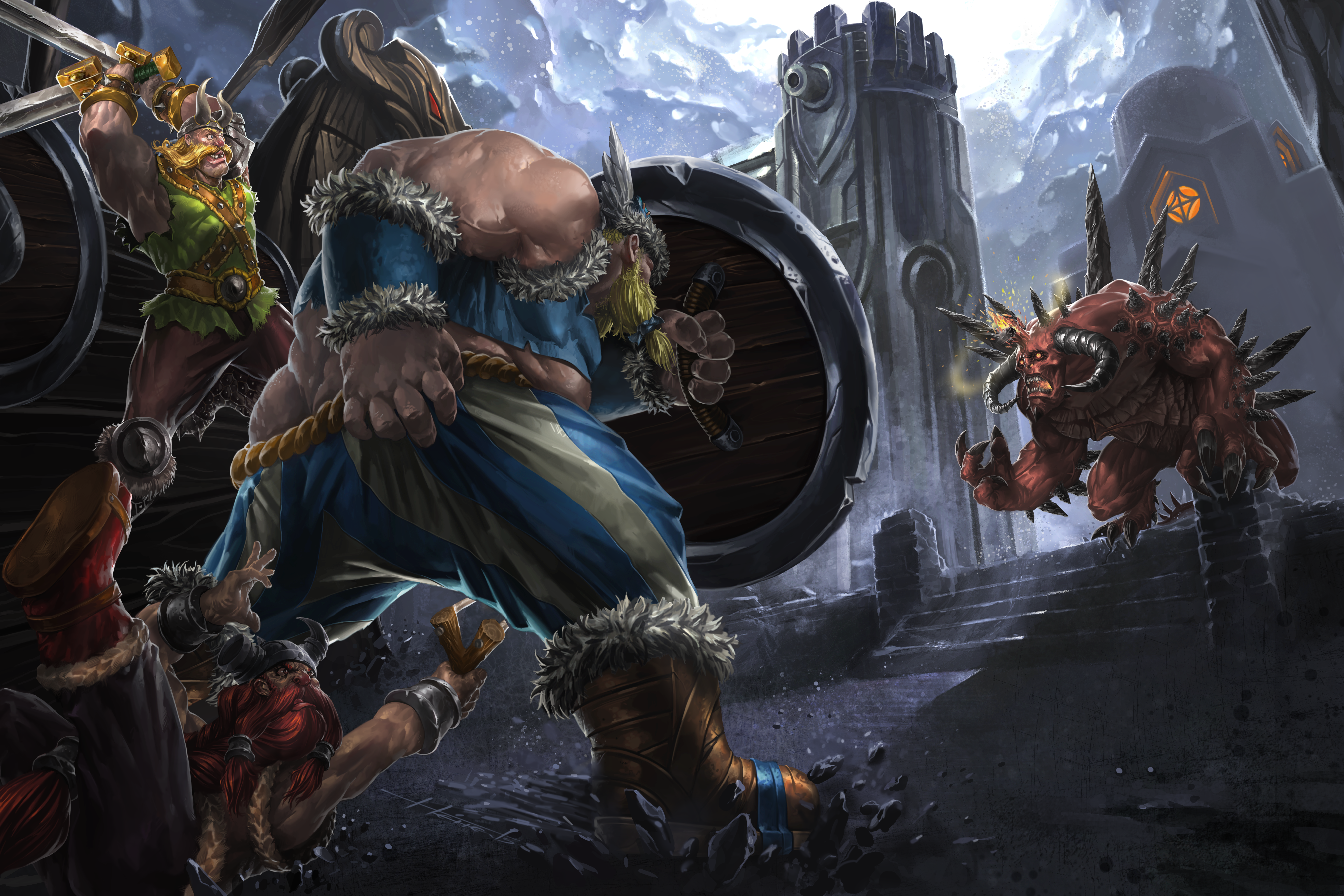 Heroes Of The Storm 5k Retina Ultra HD Wallpaper And Background