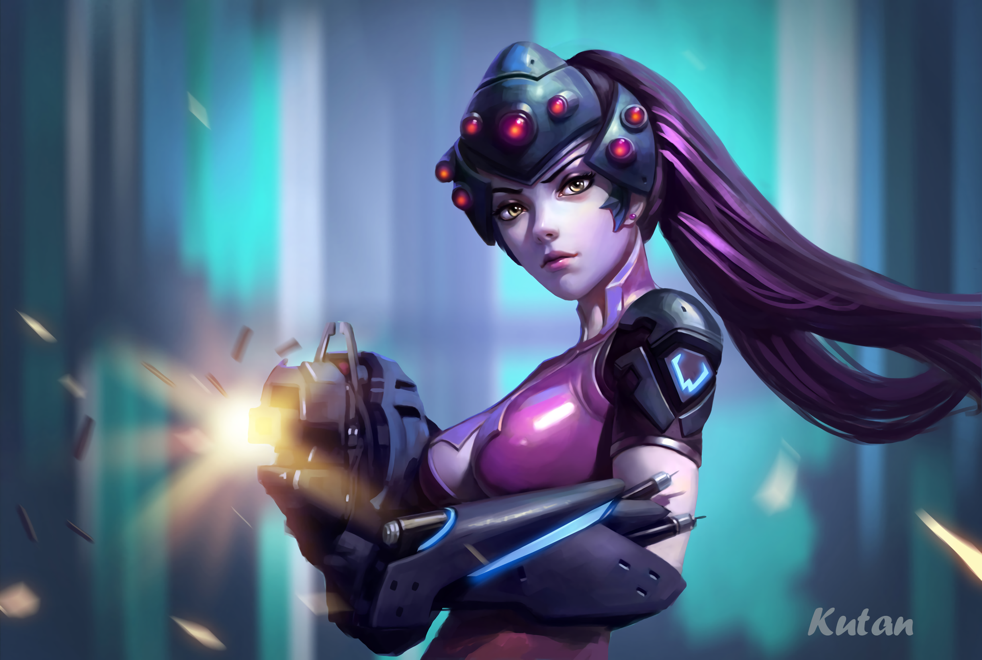 widowmaker overwatch wallpaper 1920x1080 - photo #36