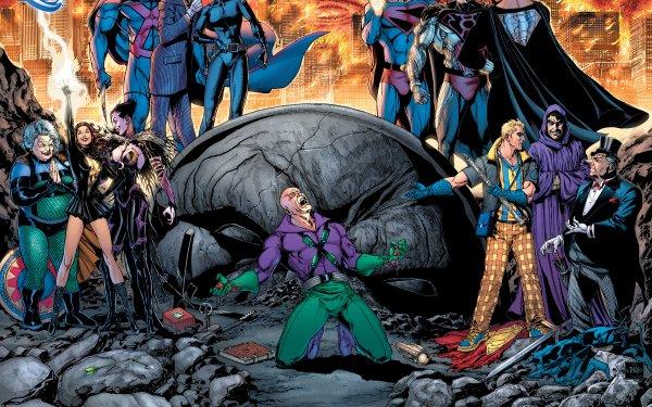 Comics DC Comics Martian Manhunter Joker Catwoman Lex Luthor Granny Goodness HD Wallpaper | Background Image